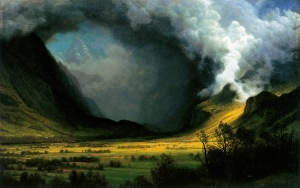 "Albert Bierstadt: ""Storm in the Mountains"""