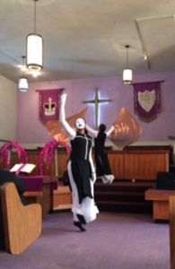 Grace Tabernacle dancer