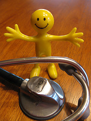 gumby & stethoscope