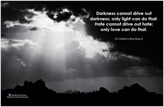 MLK on darkness