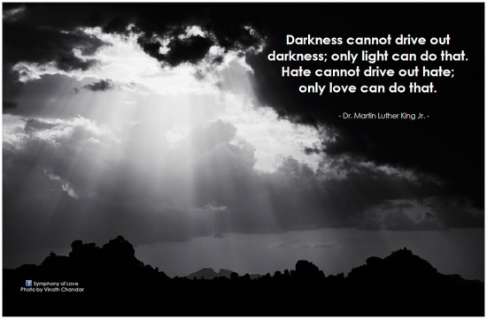 MLK on darkness