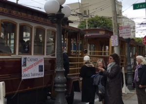 MLK Day cable car