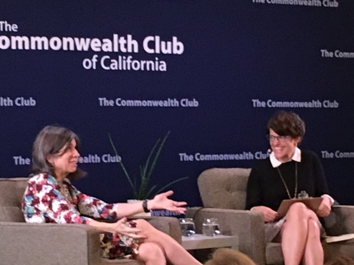 Anna Quindlen (left) & Kelly Corrigan