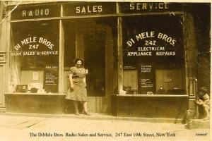 Old-time sales & service shop