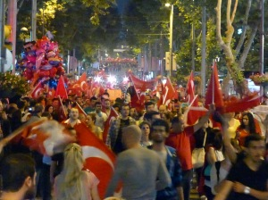 Demonstrations in Turkey