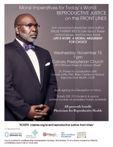 Dr. Willie Parker flyer jpeg