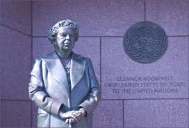 Eleanor Roosevelt UN monument