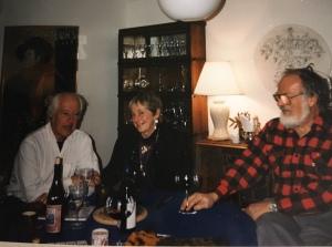 Bud, Milt, Carol 1993