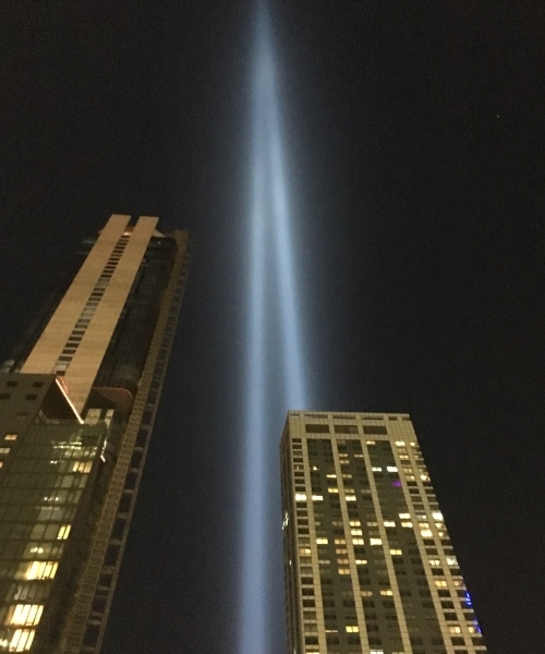 Twin Towers Lights 9.11.19